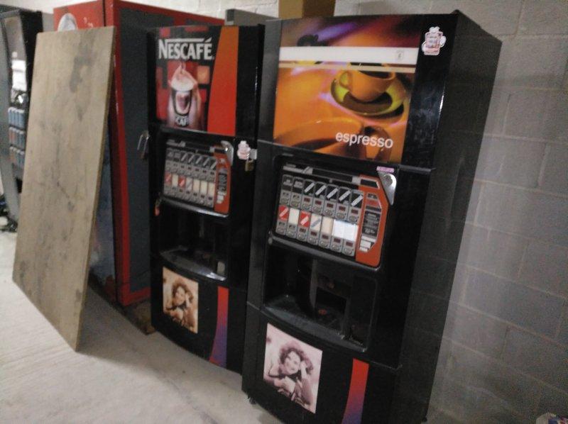 2 máquinas café Azkoyen jamica