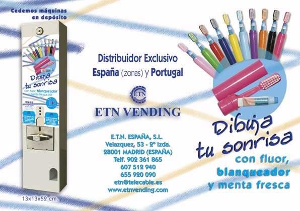 maquinas de cepillos dentales