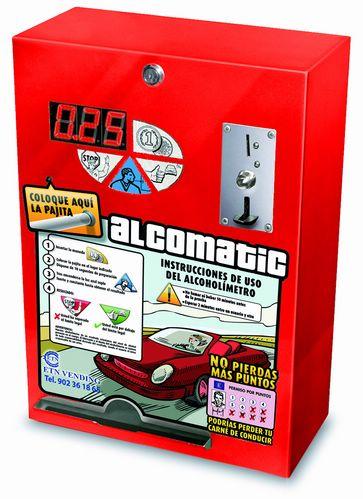 Maquina de Medir el -Alcohol  ALCOMATIC
