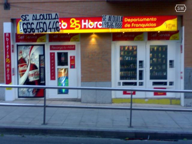 Traspaso negocio 24 horas vending en Madrid