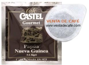 Monodosis de cafe Papua Nueva Guinea Cafes Castel