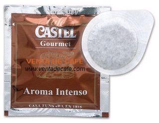 Monodosis de Café Aroma Intensso Descafeinado Cafes Castel