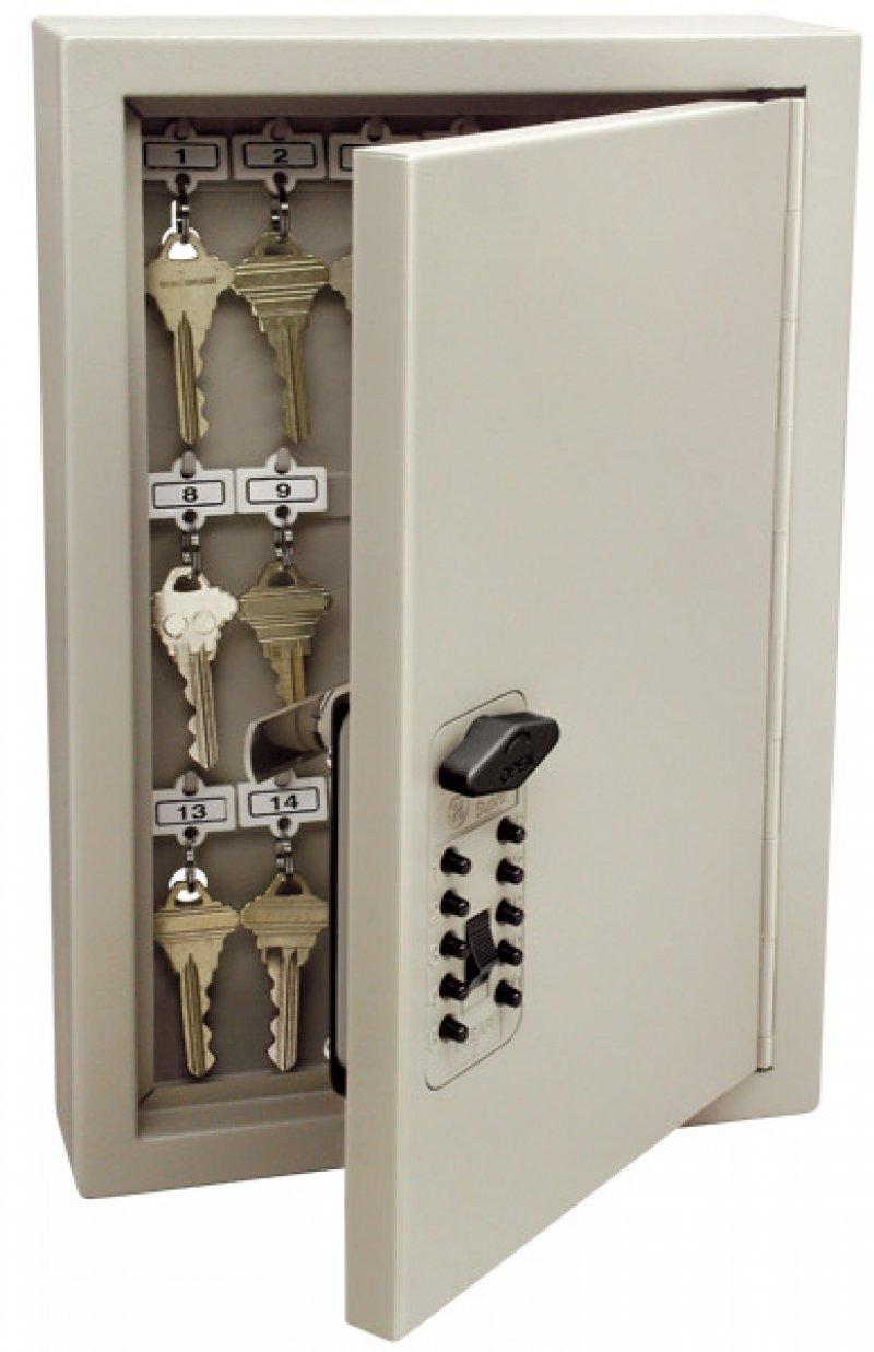 Armario metálico para guardar 30 llaves, apertura por combinación. Kidde Cabinet 30 Touch