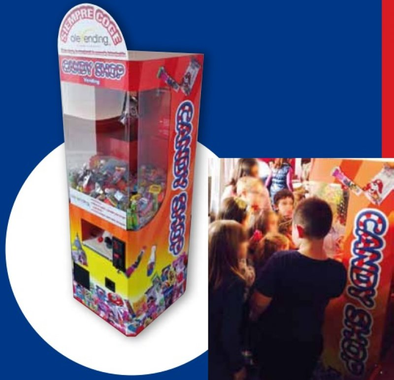 Candy Shop Vending - Venta