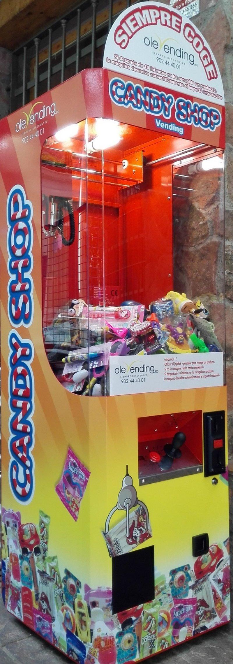 Candy Shop Vending - Venta
