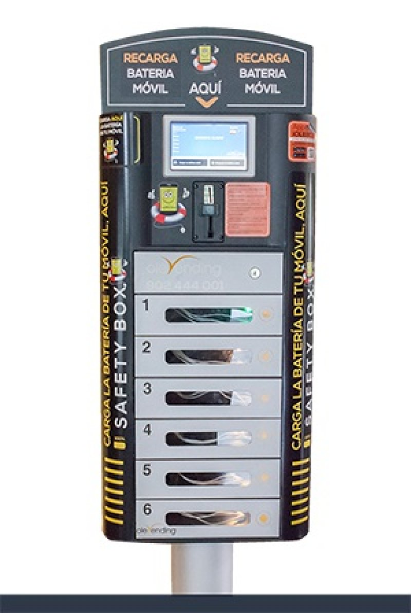 Cargador de Baterias Moviles Olebox