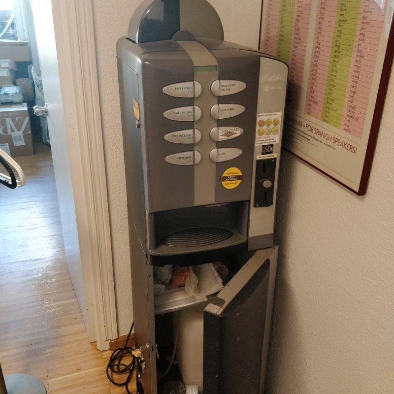 Dos Máquinas de Cafe Necta Colibri (Chollo)