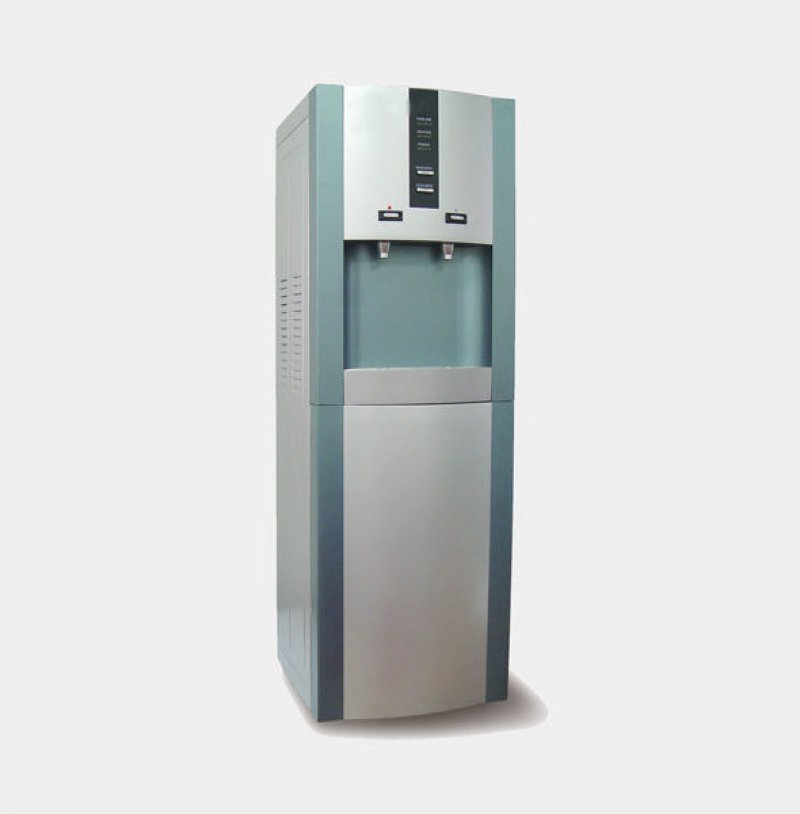 Fuente de agua fr a caliente conectada a la red con - Filtrado de agua ...