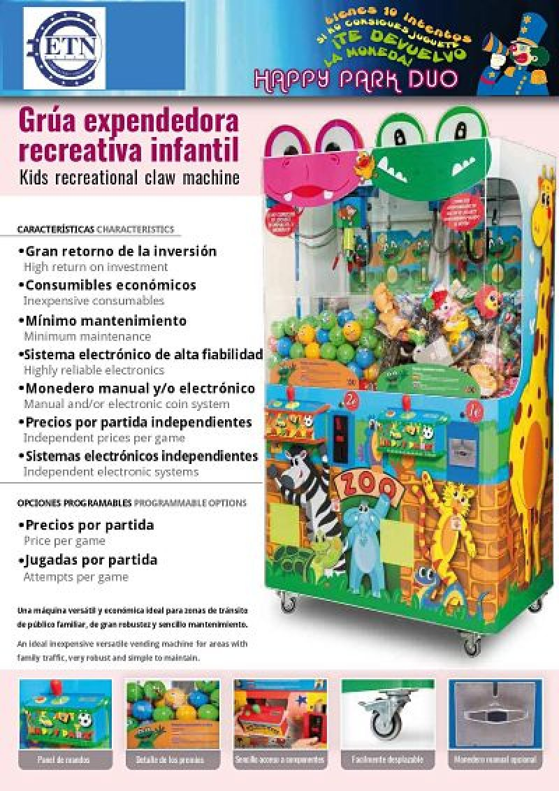 GRUA INFANTIL  DOBLE ZOO