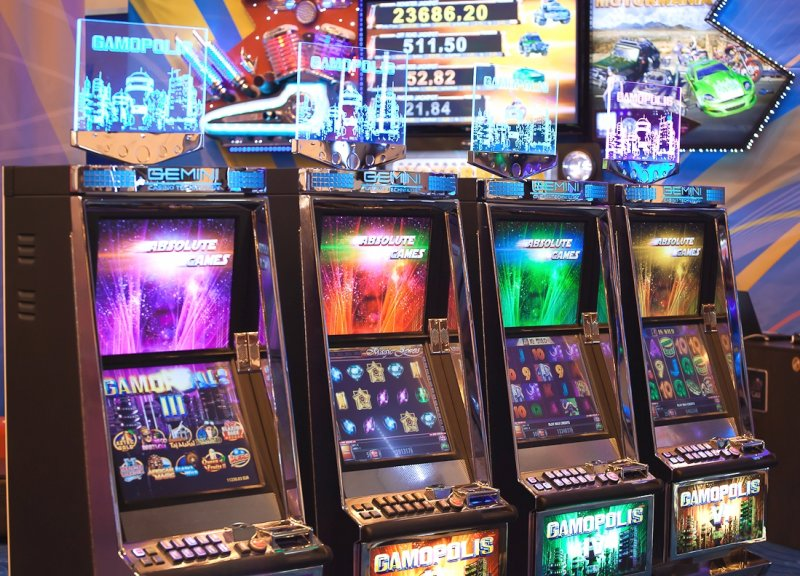 metal constructions for gaming machines, sport-betting terminals and payment terminals