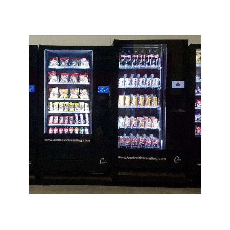 Lote 2 maquinas (1 G- snack y 1 G- drink vendospen)