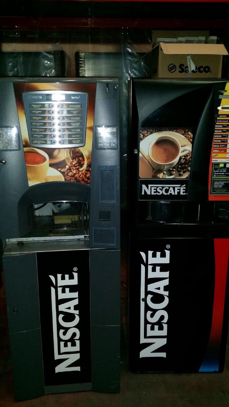 LOTE DE DOS MAQUINAS DE CAFE  SOLUBLES NECTA BRIO3