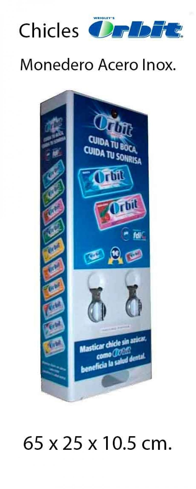 maquina de chicle ORBIT