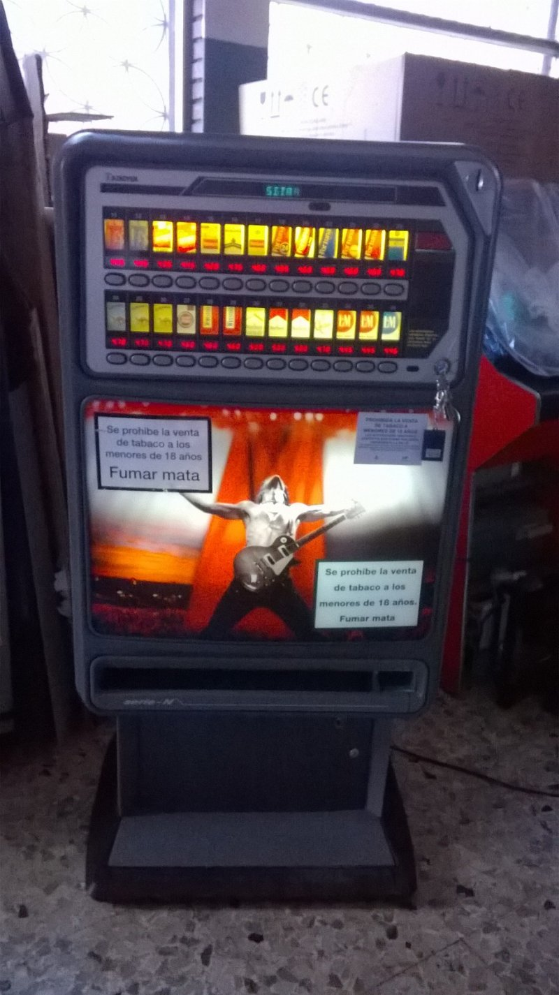 Máquina de tabaco Azkoyen