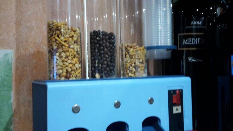Maquina electrica frutos secos