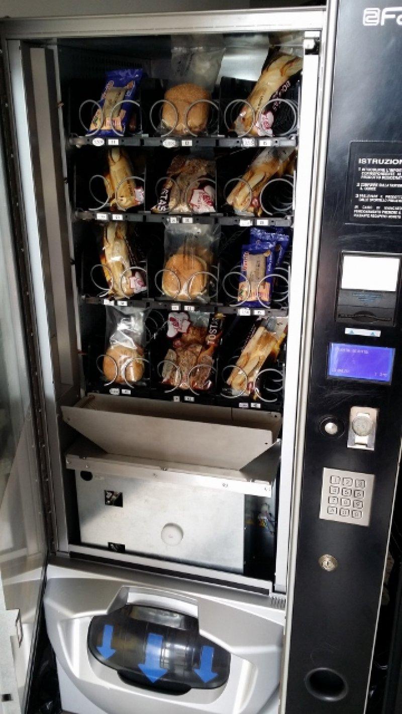 Máquina expendedora comida caliente fas just now