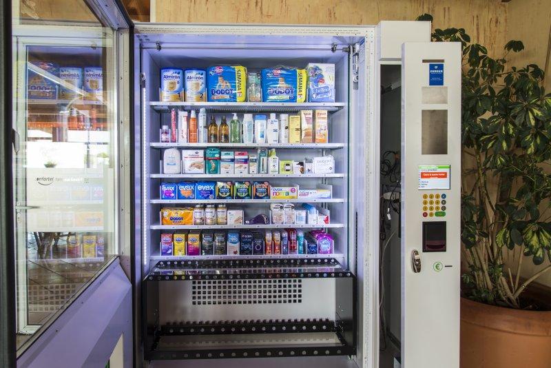 Maquina expendedora de Farmacia y parafarmacia - MercaVending