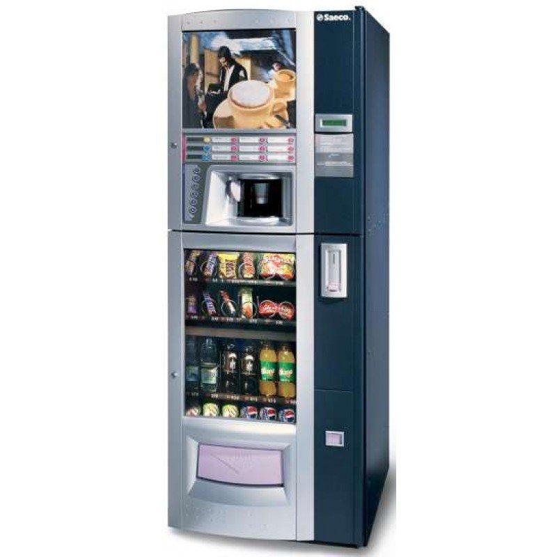 Maquina expendedora de vending saeco combi mercavending - Maquinas expendedoras de alimentos y bebidas ...
