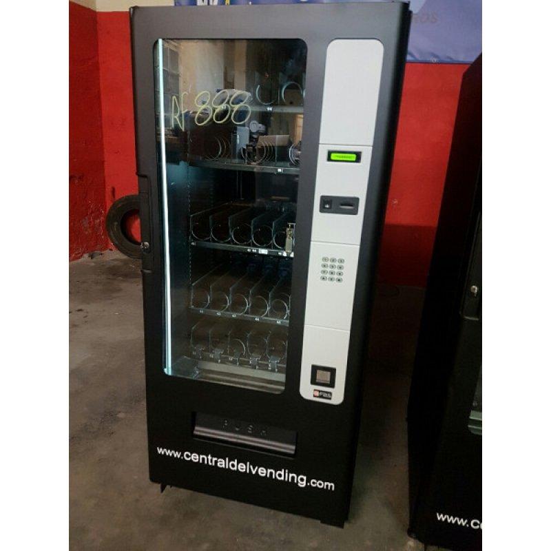 maquina expendedora vending de snack y bebidas frias en liquidación