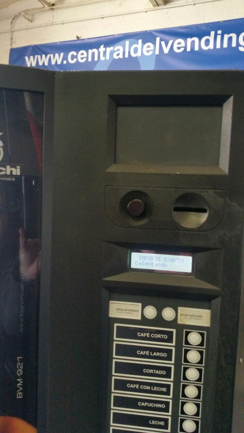 maquina vending bianchi combi