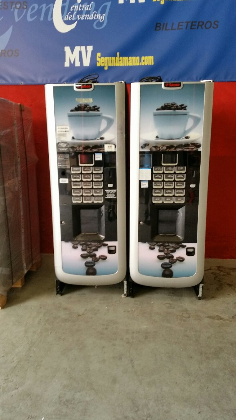 maquina vending de cafe en grano Atlante 500