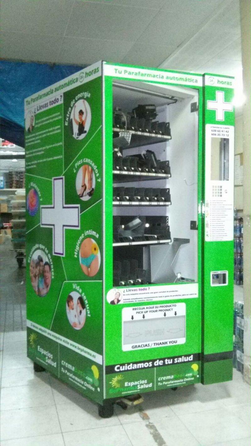 Máquina vending jofemar