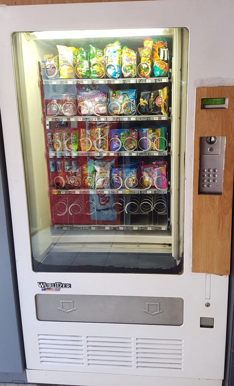 maquina vending  wurlitzer