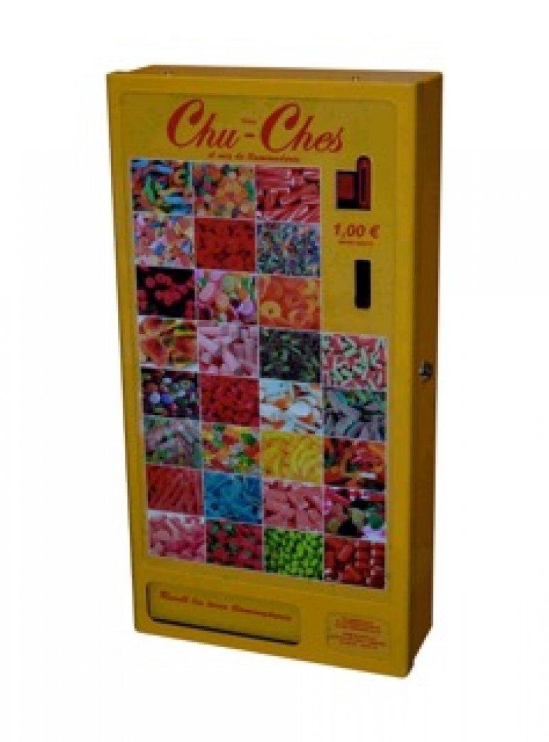 Máquinas automáticas minivending expendedoras de golosinas y chuches