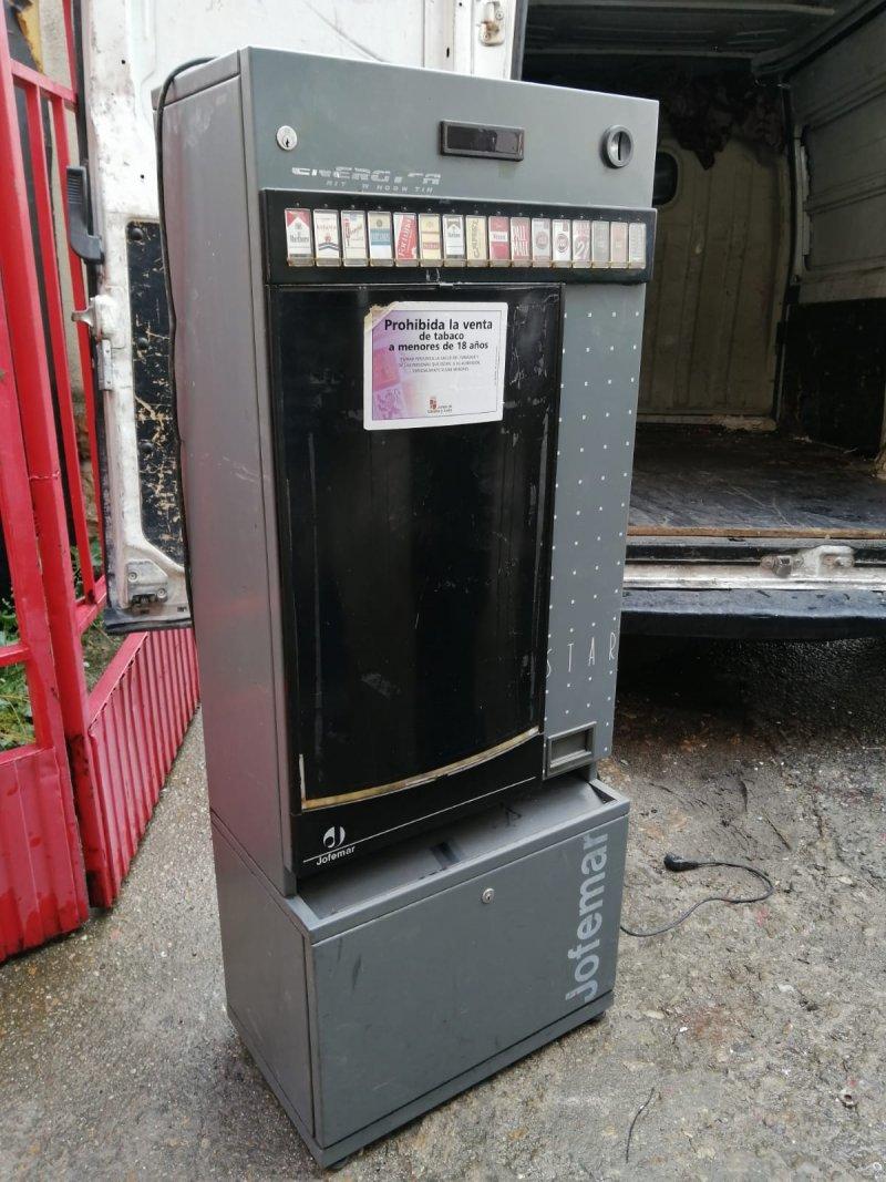 Máquinas de tabaco jofemar