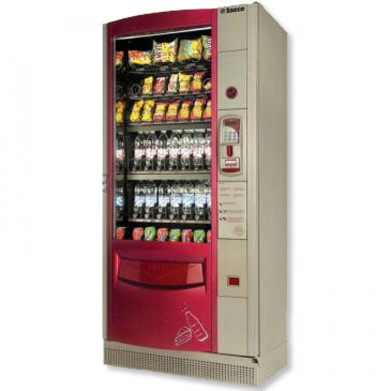 Lote máquinas de vending de café y snacks