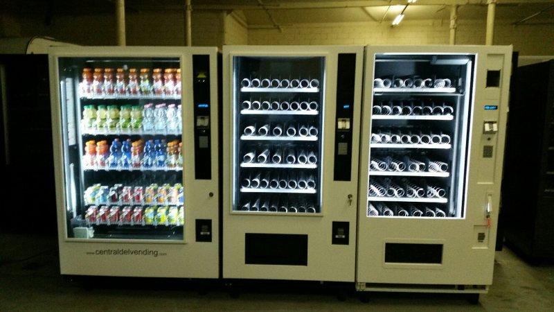 maquinas expendedoras vending para TIENDAS 24 HORAS