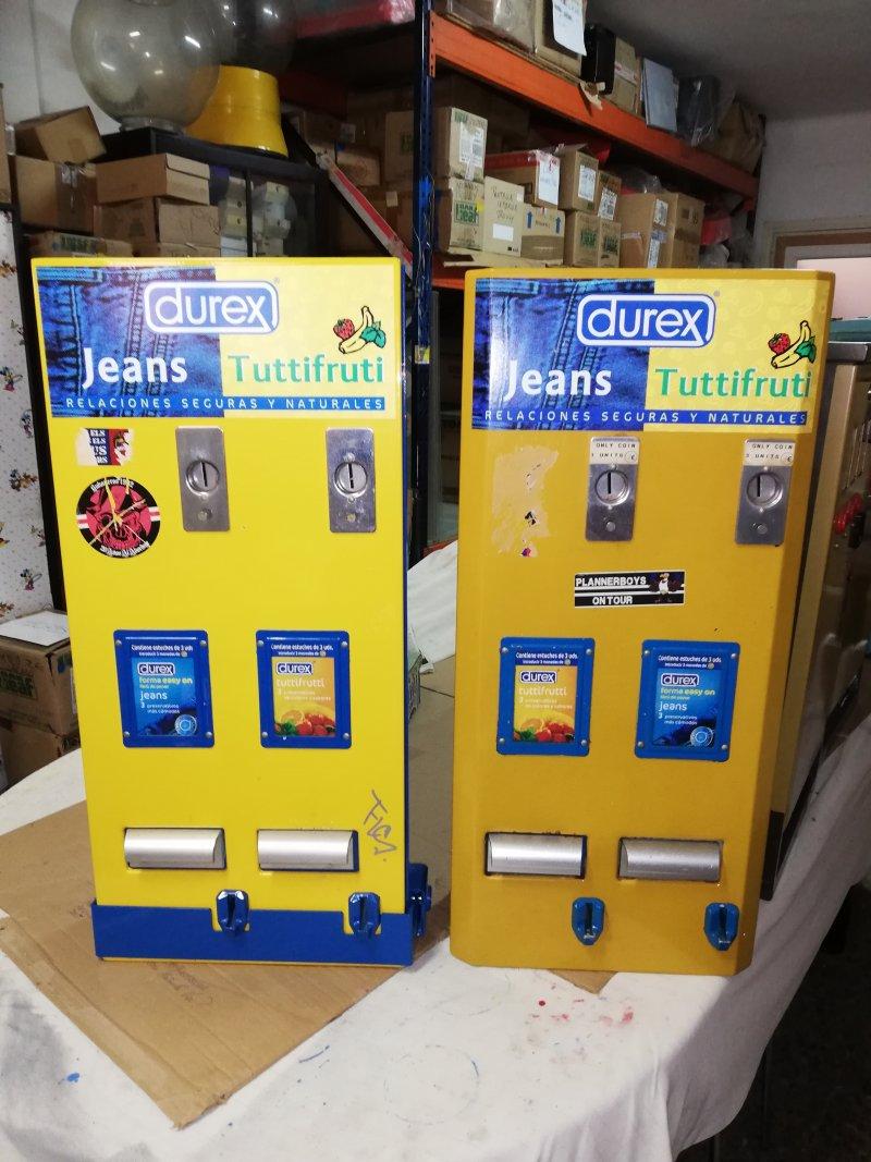 Maquinas Preservativos Blindadas