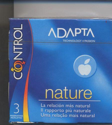 Preservativos Control adapta nature de 3 unid - Packs de 48 - Precio 1.12 / Caja de 3 pres