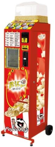Máquina expendedora de palomitas