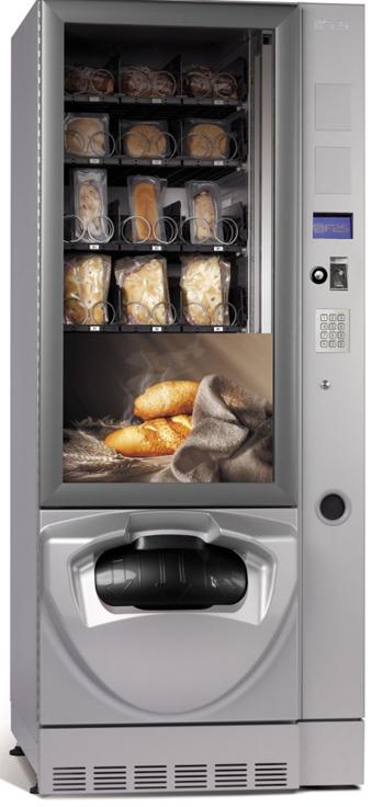 Maquina de comida caliente y bebida fría