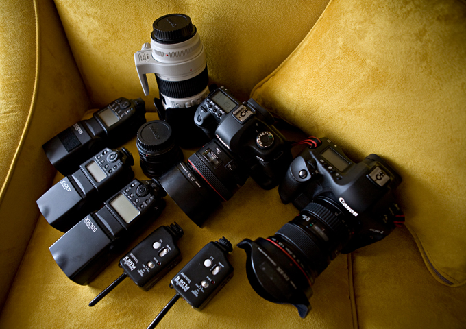 Canon 5D Mark II Camera with Canon 24-70mm f/2.8L  IS USM II Lens