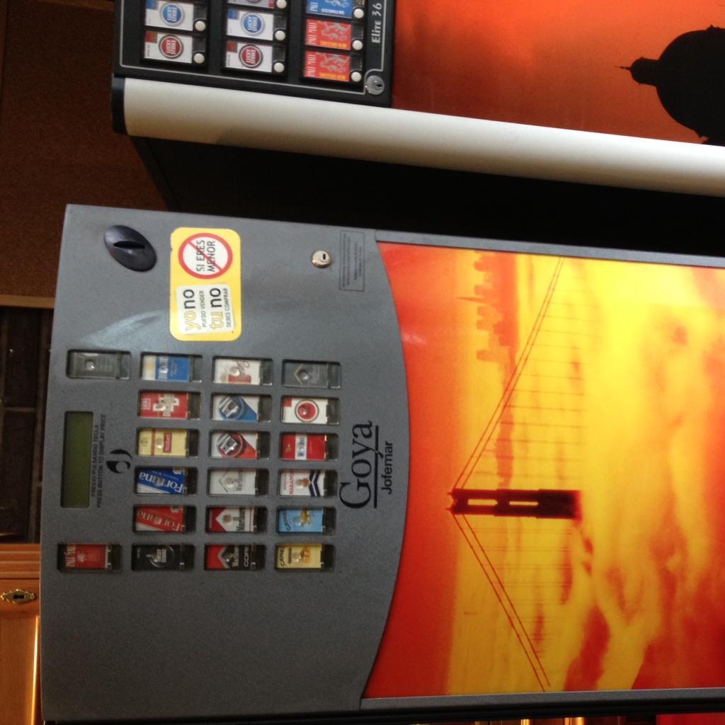 vendo lote máquinas de tabaco