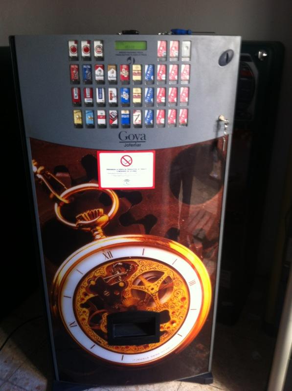 Maquinas de tabaco goyas 22,22+9,32,+32+9, con y sin billetero