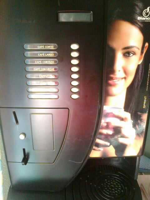 maquina vending de cafe BIANCHI SPRINT