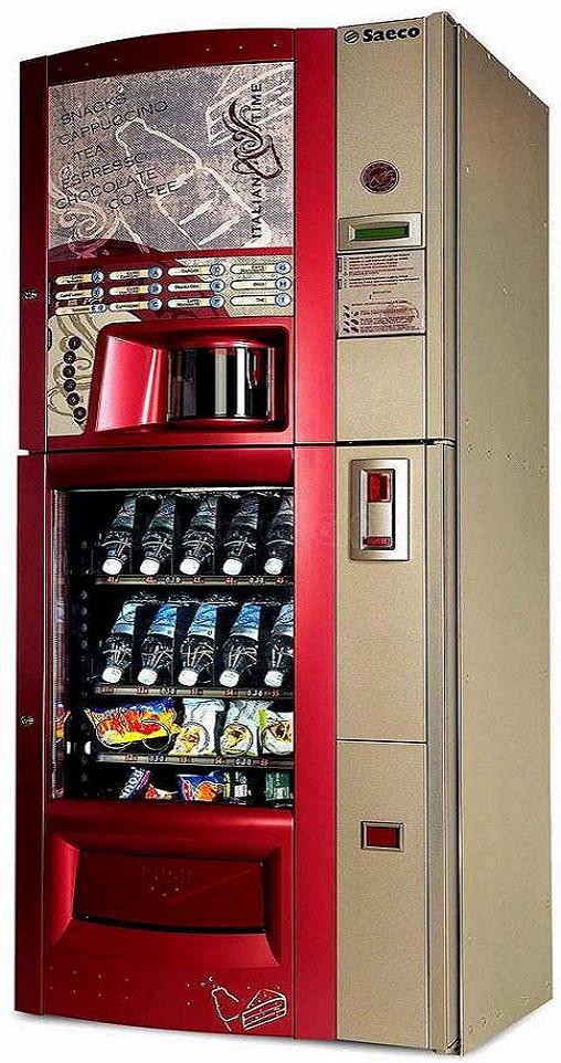SAECO DIAMANTE. Maquina de Café y Snack