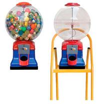 CAprichito. Máquina expendedora, chicles, caramelos granel y pelotas saltarinas