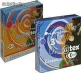Unilatex preservativos naturales o multifruta