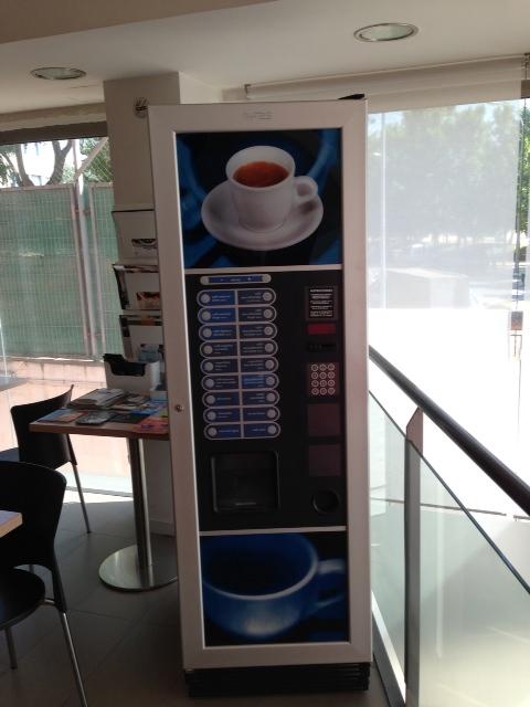 Vendo Máquina de Café FAS