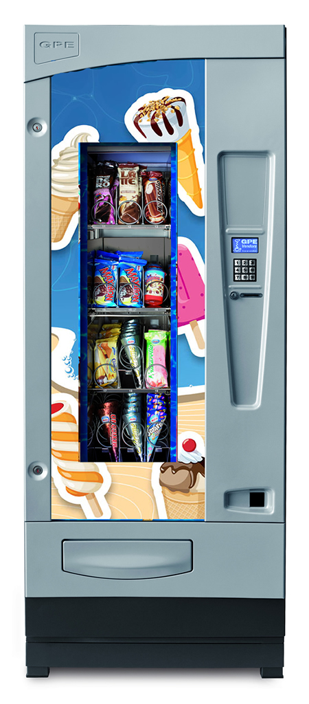 Expendedora de helados GPE DRX Frozen Master