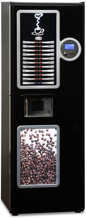 Expendedora automática de bebidas calientes a cápsulas GPE COFFEETUBE