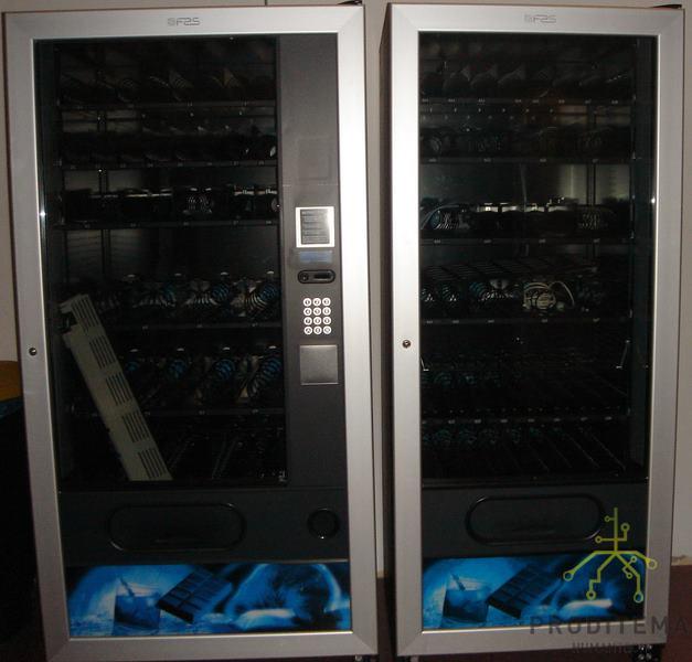 Máquinas de snack Fast 900 SA + Fast 750 FV de ocasión.