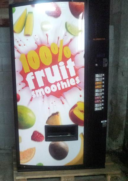 maquinas de bebidasMáquinas de bebidas de la marca VENDO.