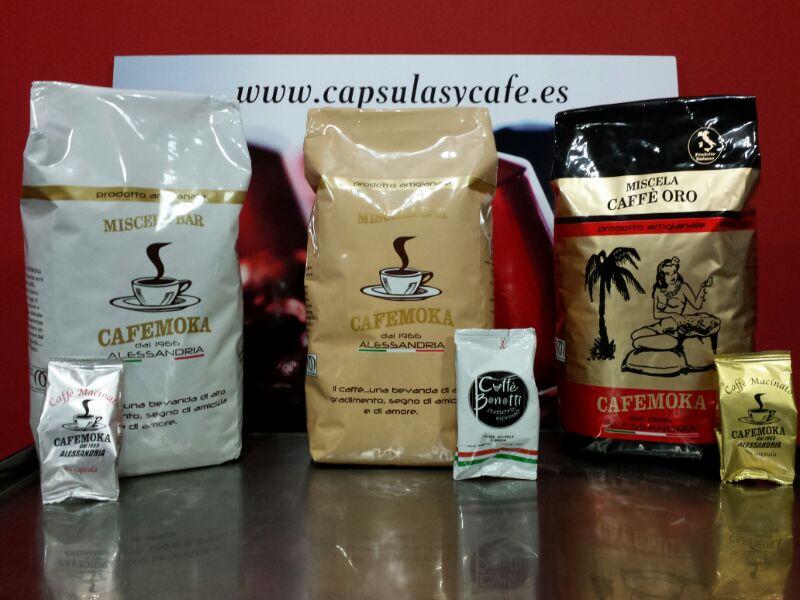 Venta de café en grano y capsulas CafeMoka