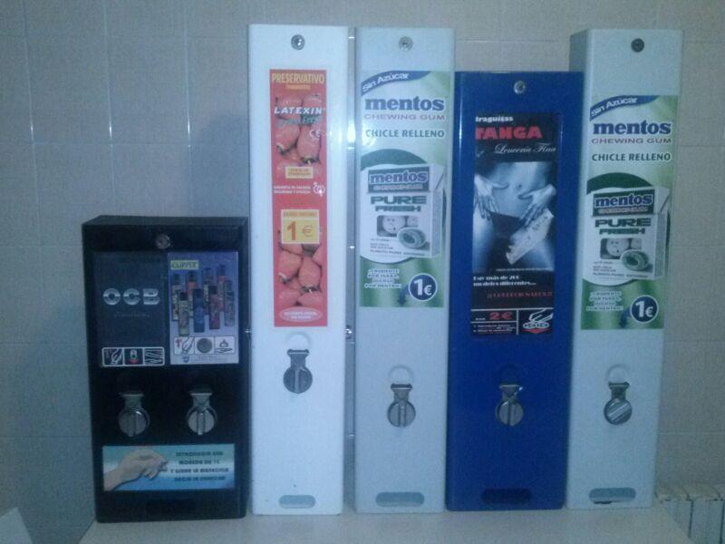 se vende maquinas preservativos seminuevas
