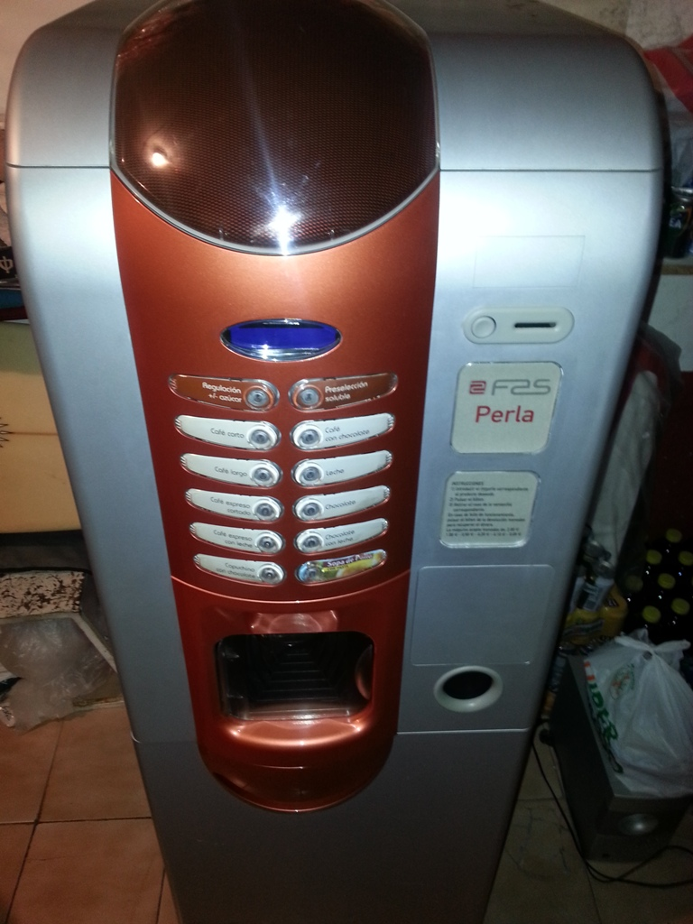 Maquina de Cafe FAS PERLA (Con mueble incluido)